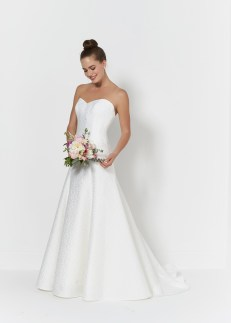 So Sassi Ebony strapless wedding dress
