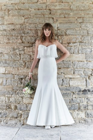 So Sassi Gigi fishtail bridal dress