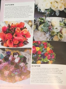 Love Our Wedding Magazine August 2018 flowers