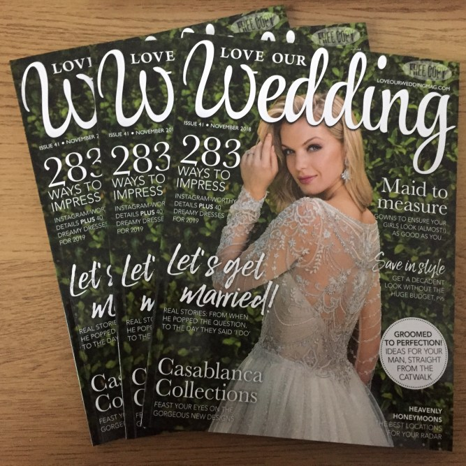 Love Our Wedding free magazine
