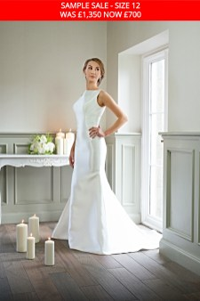Catherine Parry 1628 bridal gown sample sale