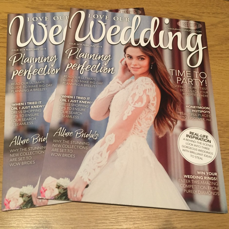 Free Love Our Wedding magazine