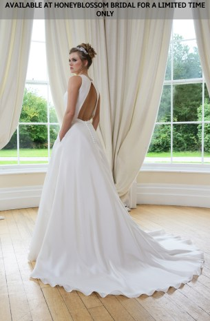 Catherine Parry Cate bridal gown - Available at Honeyblossom Bridal for a limited time only
