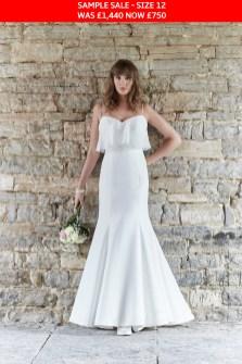 So Sassi Gigi bridal dress sample sale