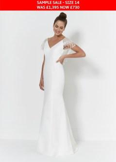 So Sassi Rosie wedding dress sample sale