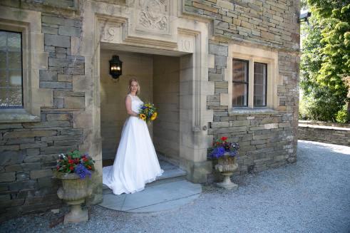 Honeyblossom Bride Sally in Catherine Parry wedding dress