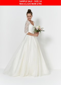 So Sassi Connie wedding gown sample sale