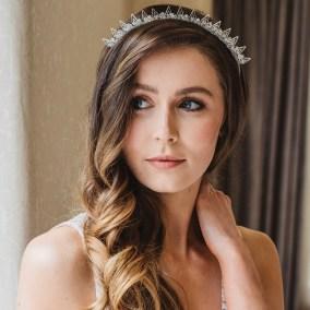Spiky bridal crown - Elpis