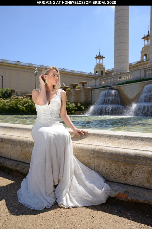 Catherine Parry Aurelia bridal dress arriving soon at Honeyblossom Bridal