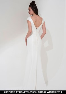 Freda Bennet Cleo bridal gown arriving soon to Honeyblossom Bridal