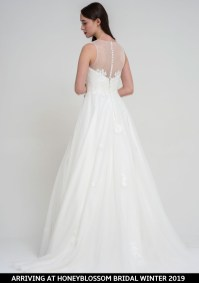Freda Bennet Florence bridal gown arriving soon to Honeyblossom Bridal