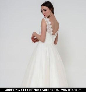 Freda Bennet Freya bridal dress arriving soon to Honeyblossom Bridal