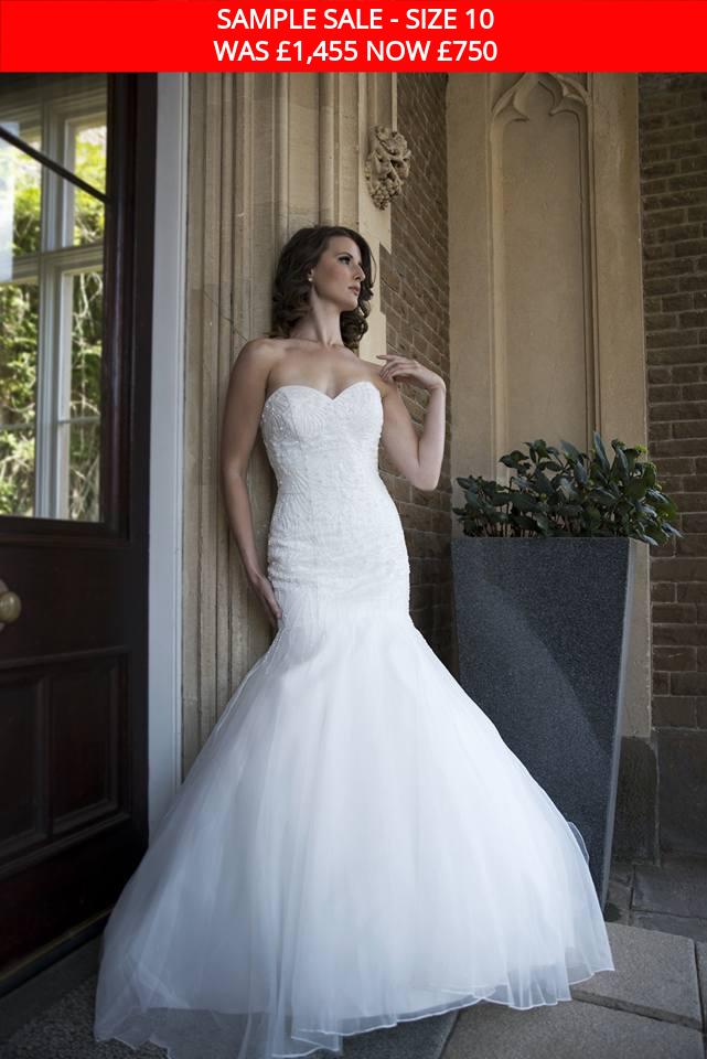 GAIA 1515 bridal gown sale rail