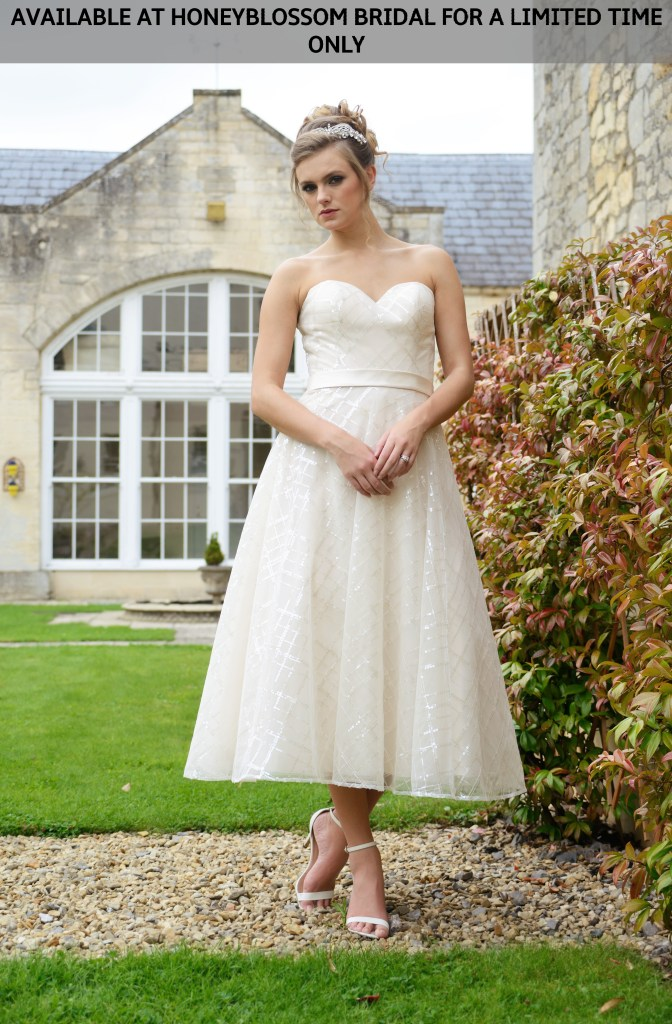 Catherine-Parry-Reese-tea-length-wedding-dress-Available-at-Honeyblossom-Bridal-for-a-limited-time-only