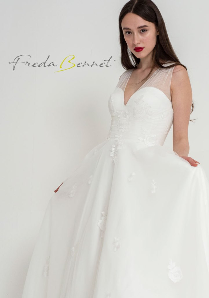 Freda Bennet Florence bridal gown