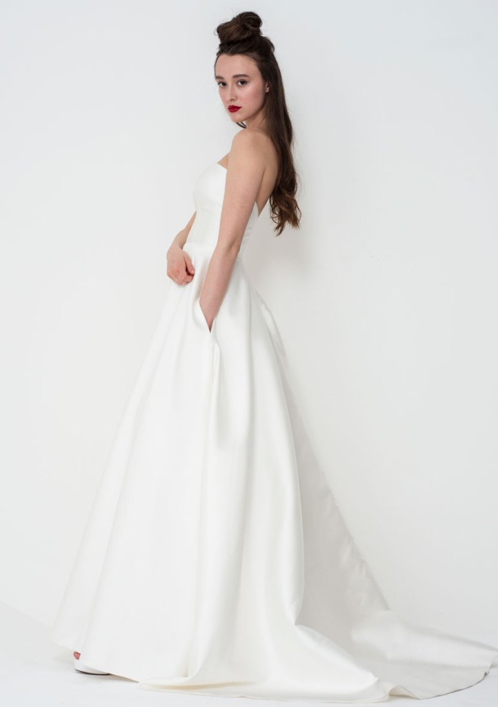 Freda Bennet Nina wedding gown