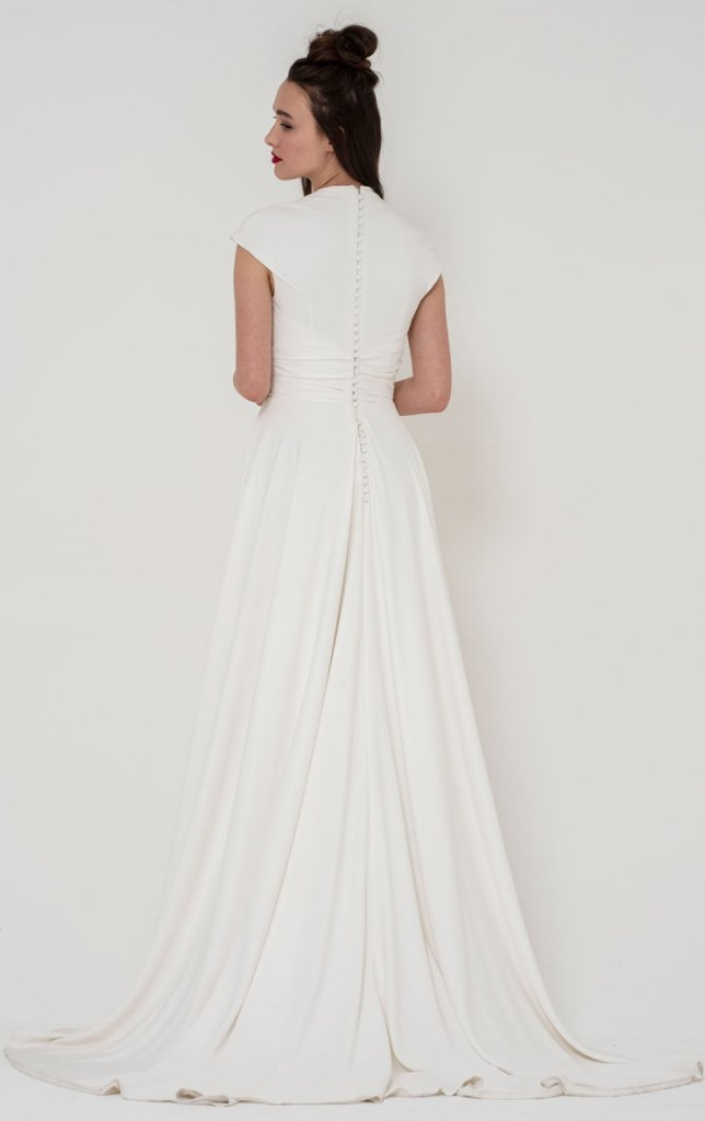 Freda Bennet Stella wedding dress back