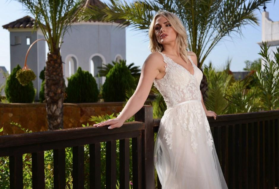 GAIA Zara wedding dress