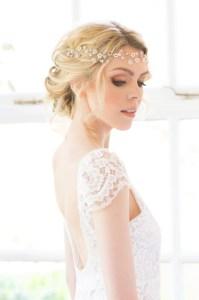 Handmade bridal hair vine - Eden
