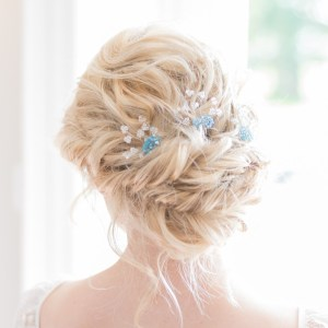 Handmade wedding hairpins - Lilybeau