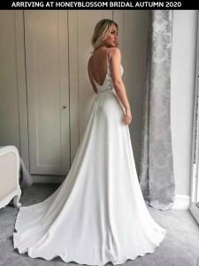 GAIA Capri wedding dress arriving soon at Honeyblossom Bridal boutique