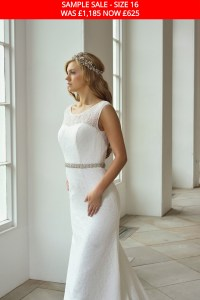 GAIA 1712 wedding dress sample sale