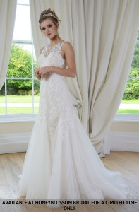 GAIA Megan bridal gown - Available at Honeyblossom Bridal for a limited time only