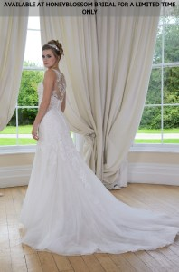 GAIA Megan wedding dress - Available at Honeyblossom Bridal for a limited time only