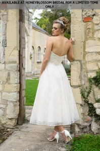 GAIA Reese wedding dress - Available at Honeyblossom Bridal for a limited time only