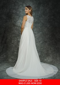GAIA 1508 bridal gown sample sale
