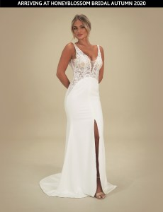 GAIA Portofino wedding dress arriving soon to Honeyblossom Bridal boutique