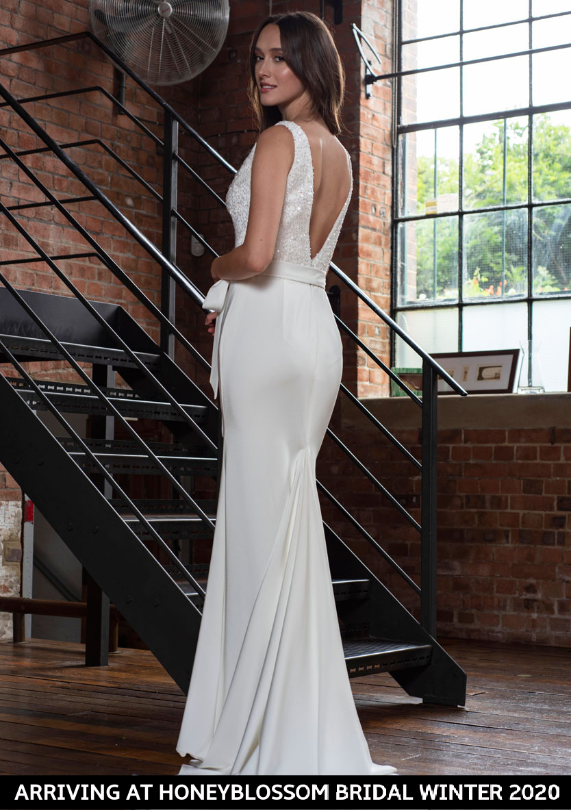Freda Bennet Hope wedding dress arriving soon to Honeyblossom Bridal