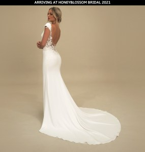 GAIA Sanremo wedding dress arriving soon to Honeyblossom Bridal boutique