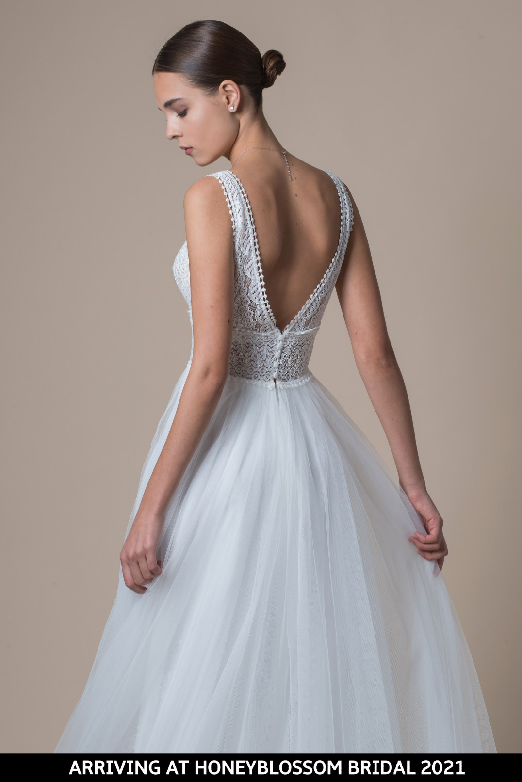 MiaMia McKenzie bridal gown arriving soon to Honeyblossom Bridal