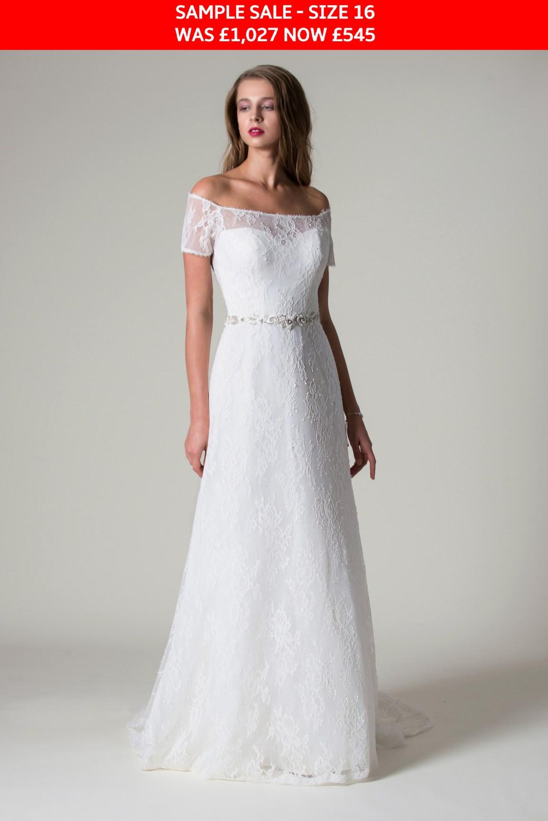 MiaMia Kallista wedding dress sample sale
