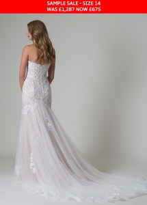 MiaMia Paulina bridal gown sample sale