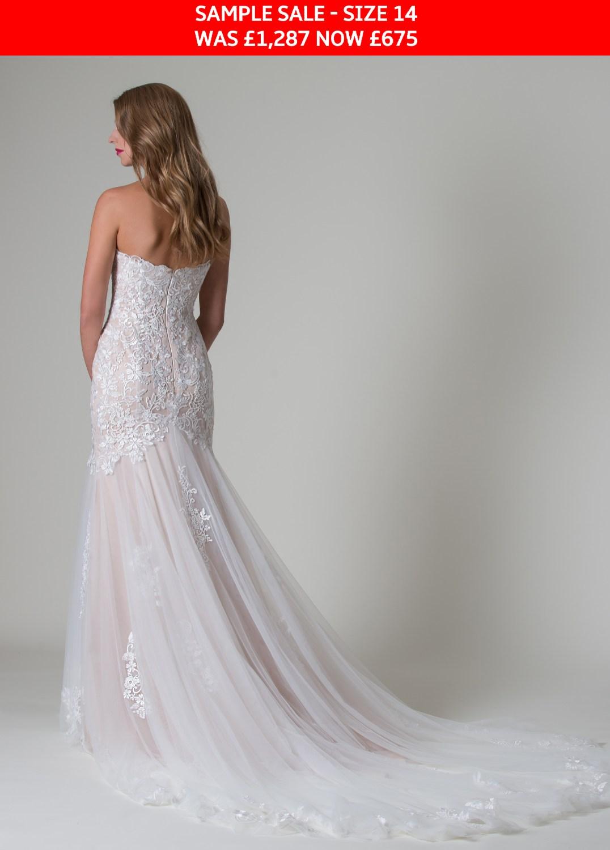 MiaMia Paulina bridal gown sample sale