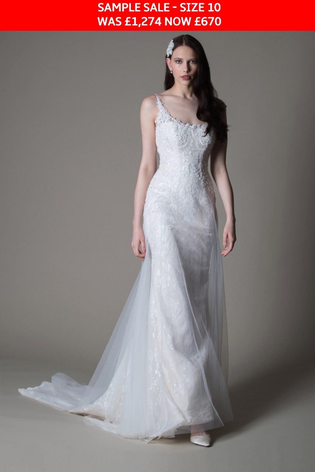 MiaMia Abigail bridal gown sample sale