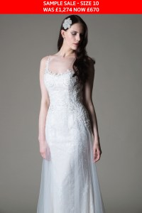 MiaMia Abigail wedding gown sample sale
