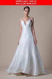 MiaMia Dempsey wedding dress sample sale