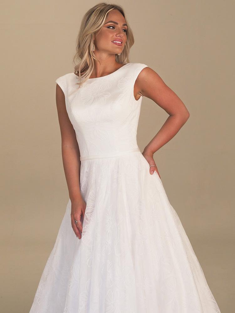 GAIA Maxime wedding gown