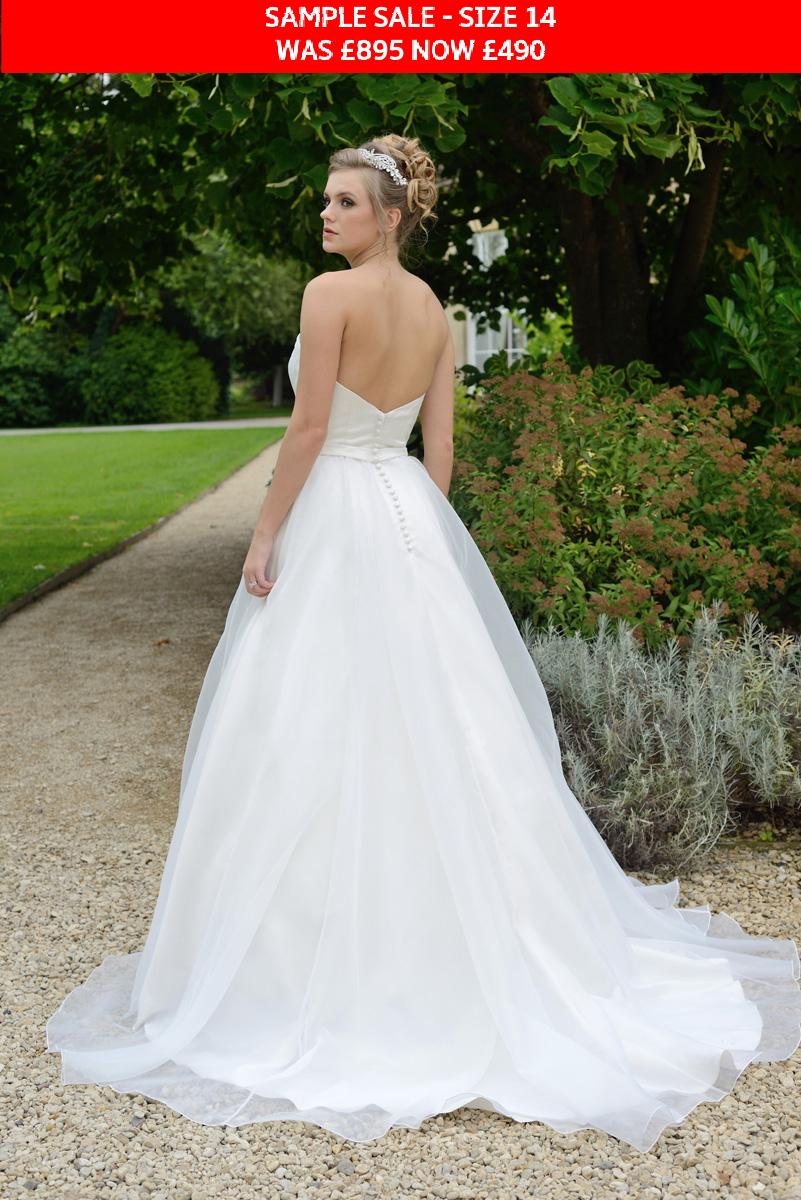 GAIA Annabel bridal gown sample sale
