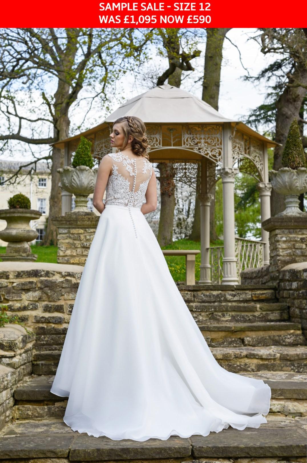 GAIA Cara bridal gown sample sale