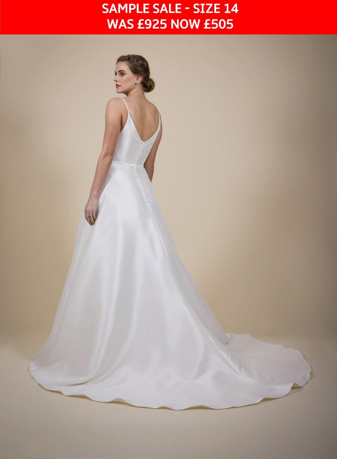 GAIA Tania wedding gown sample sale