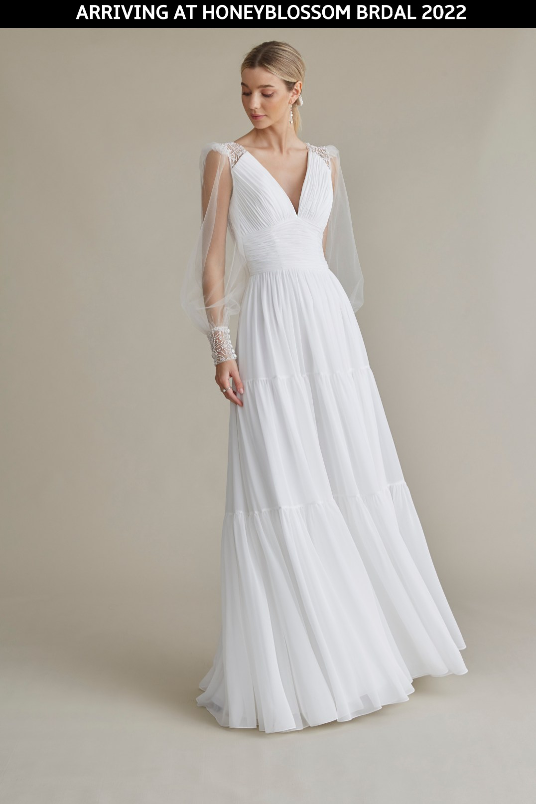 MiaMia Billie wedding dress arriving soon to Honeyblossom Bridal
