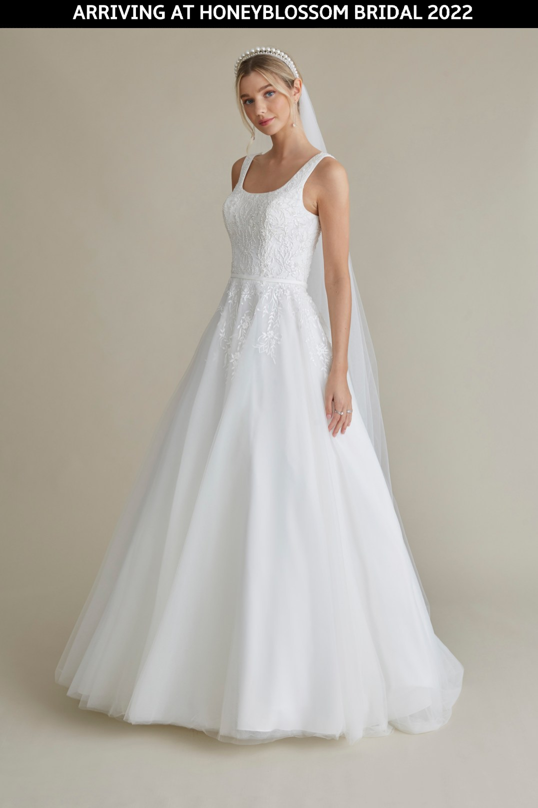 MiaMia Elle wedding gown arriving soon to Honeyblossom Bridal