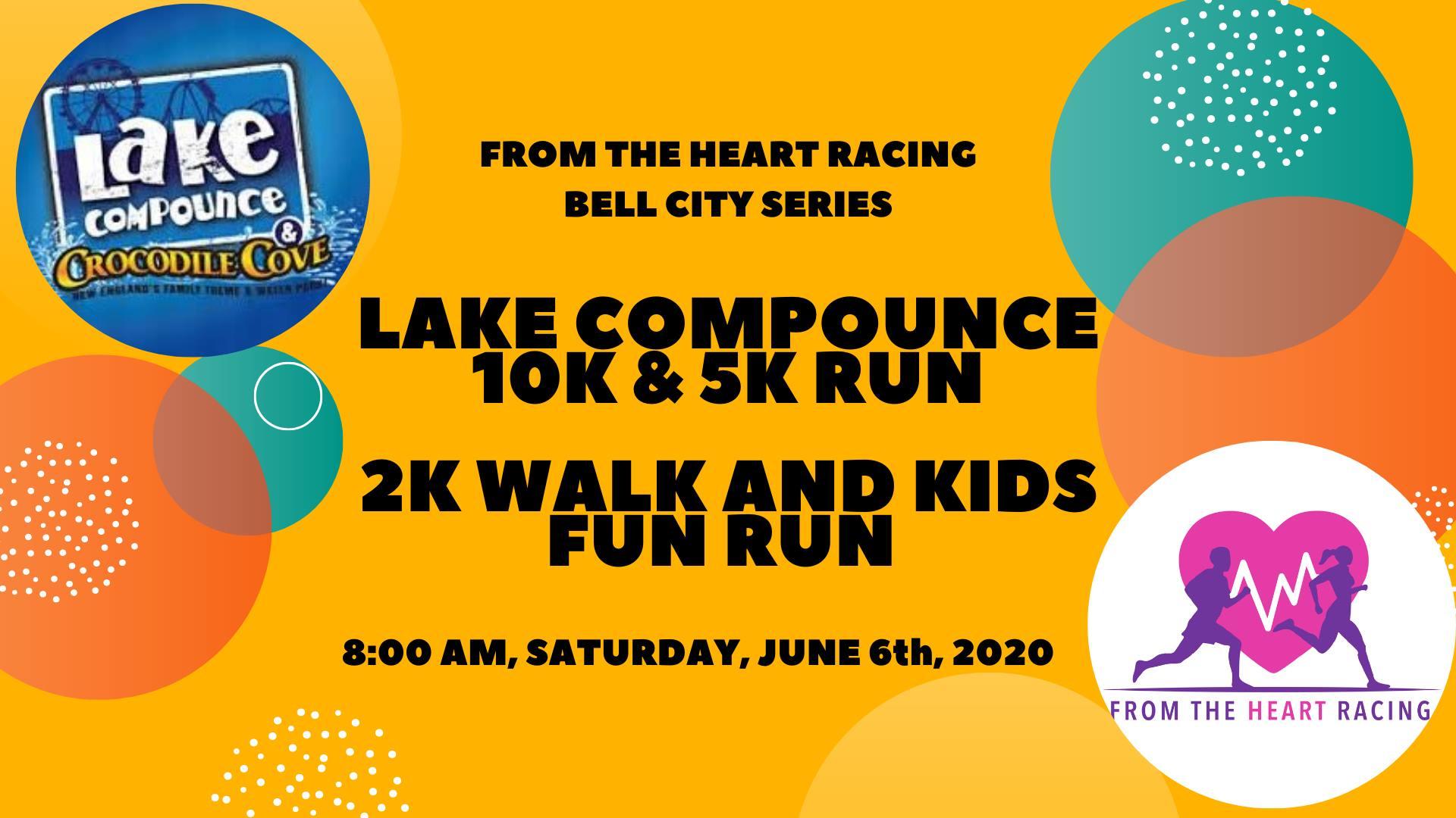 Lake Compounce 10k & 5k Run, 2k Walk and Kids Fun Run