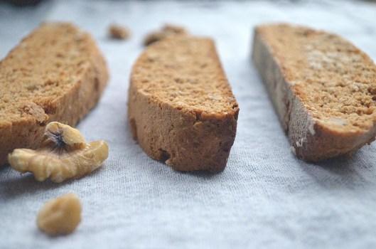 Walnut Cinnamon Biscotti