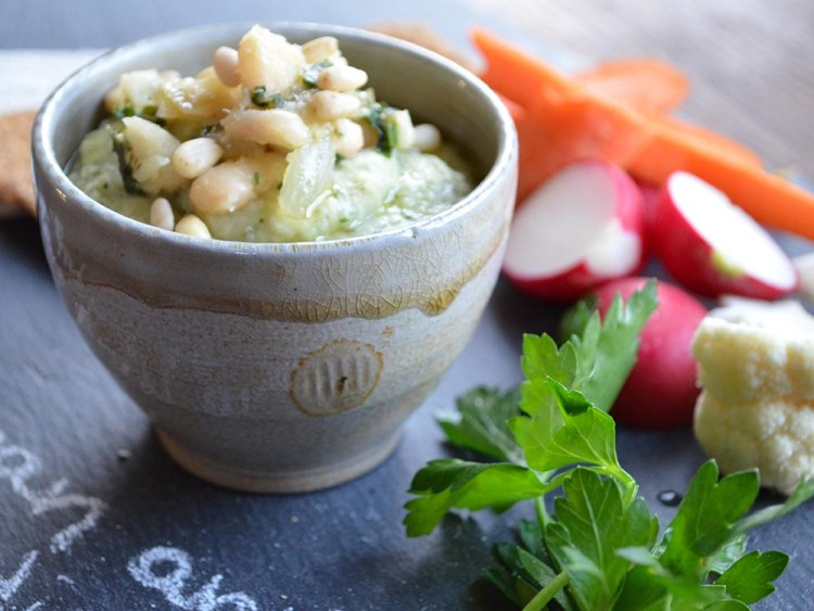 White Bean and Celery Root Puree