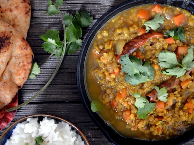 Red Lentil and Vegetable Dal